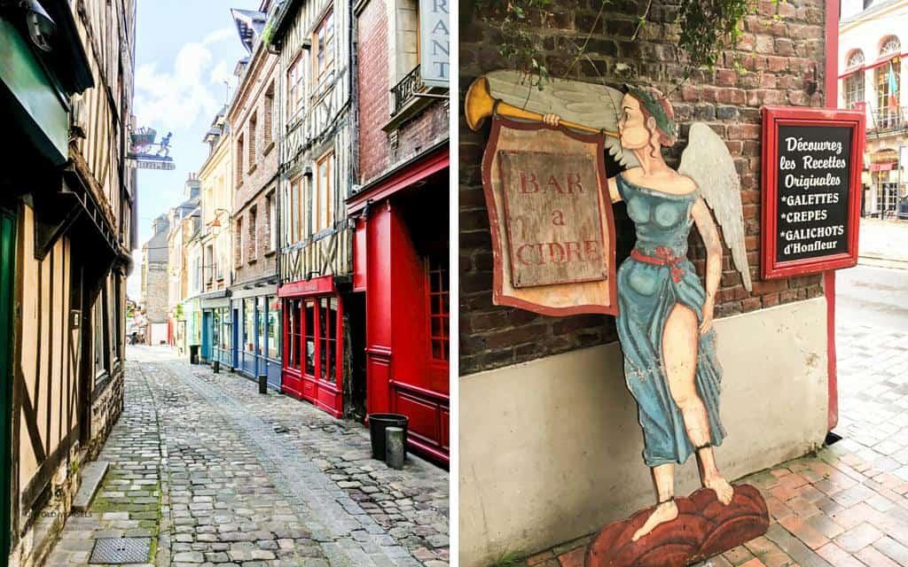 quaint streets honfleur normandy