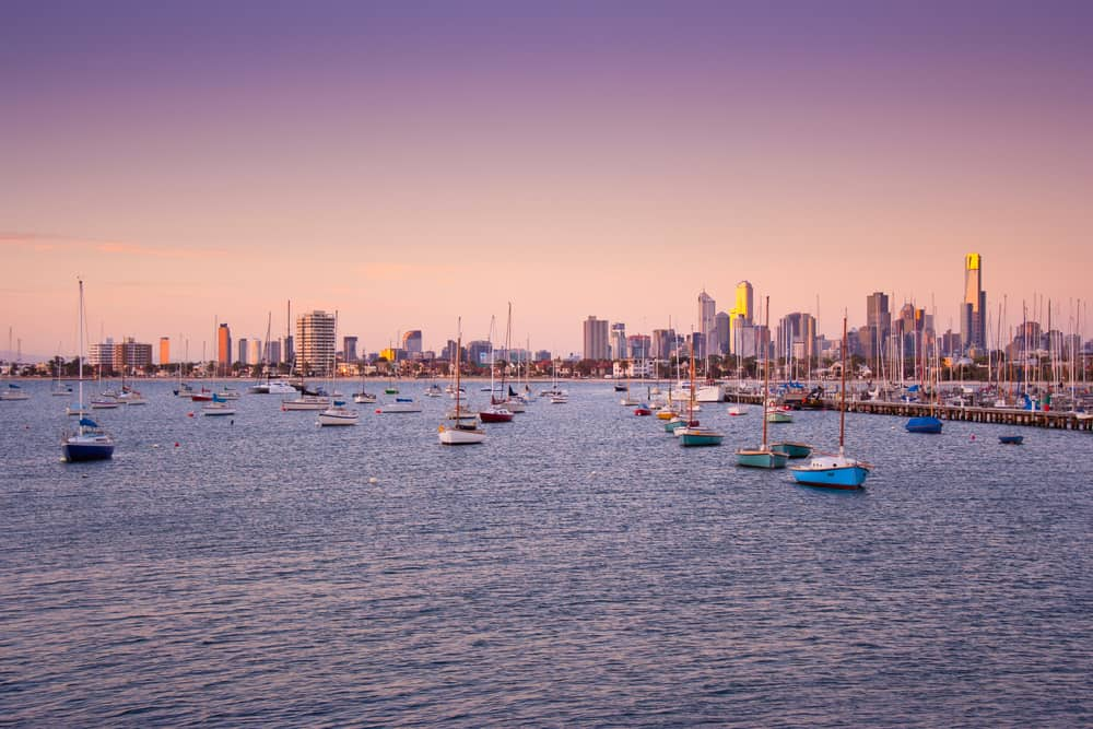 best things to do in st kilda - city views