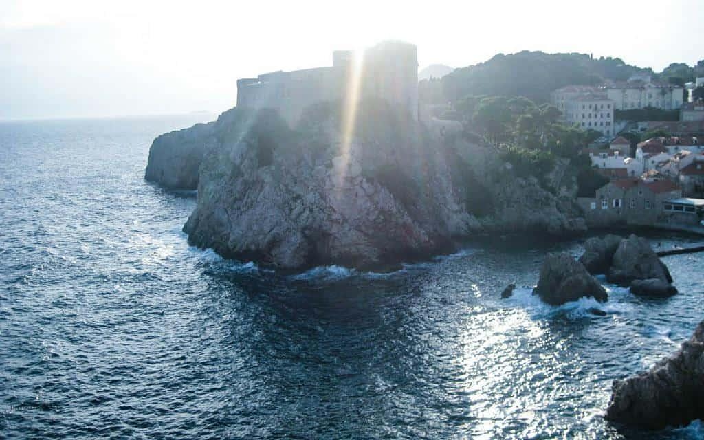 sunset views Dubrovnik