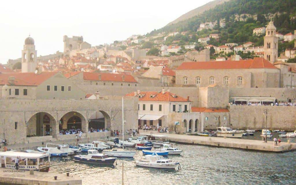 Visit Dubrovnik old town and harbour