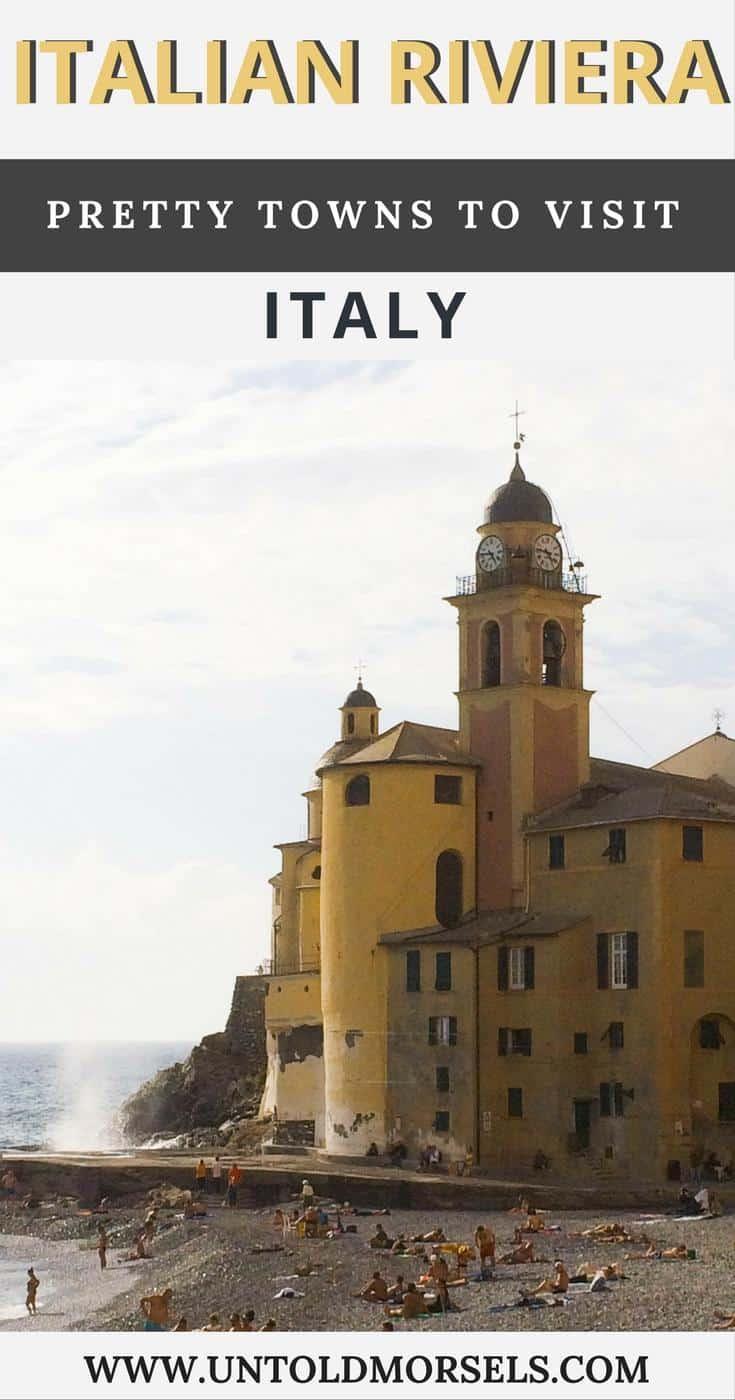 Italian Riviera travel guide - visit towns like Portofino, Camogli, Cinque Terre, Rio Maggiore, Sestri Levante