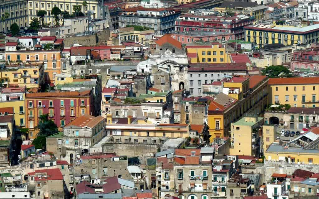 naples italy my brilliant friend