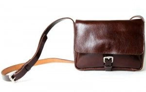 Oxblood mini cross body bag from Pour La Pomme