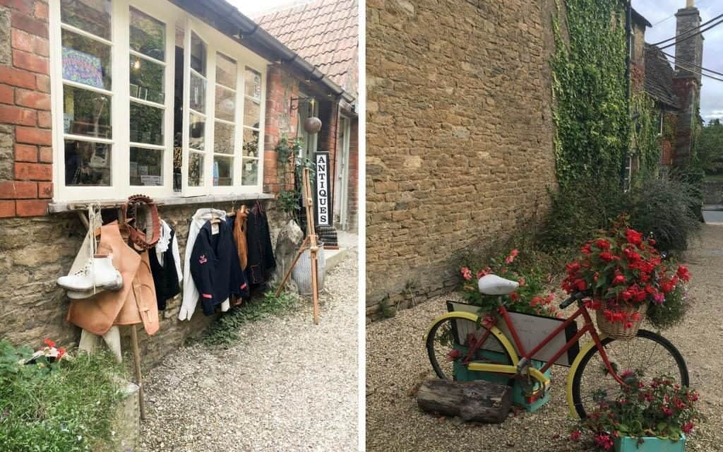 antique shopping in the Cotswolds