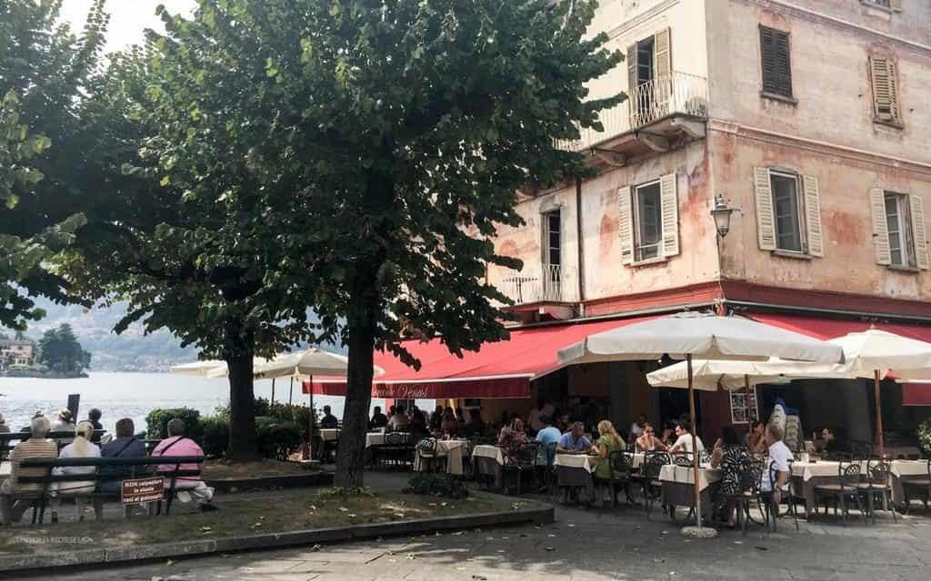 Venus restaurant Orta San Giulio Italian lakes