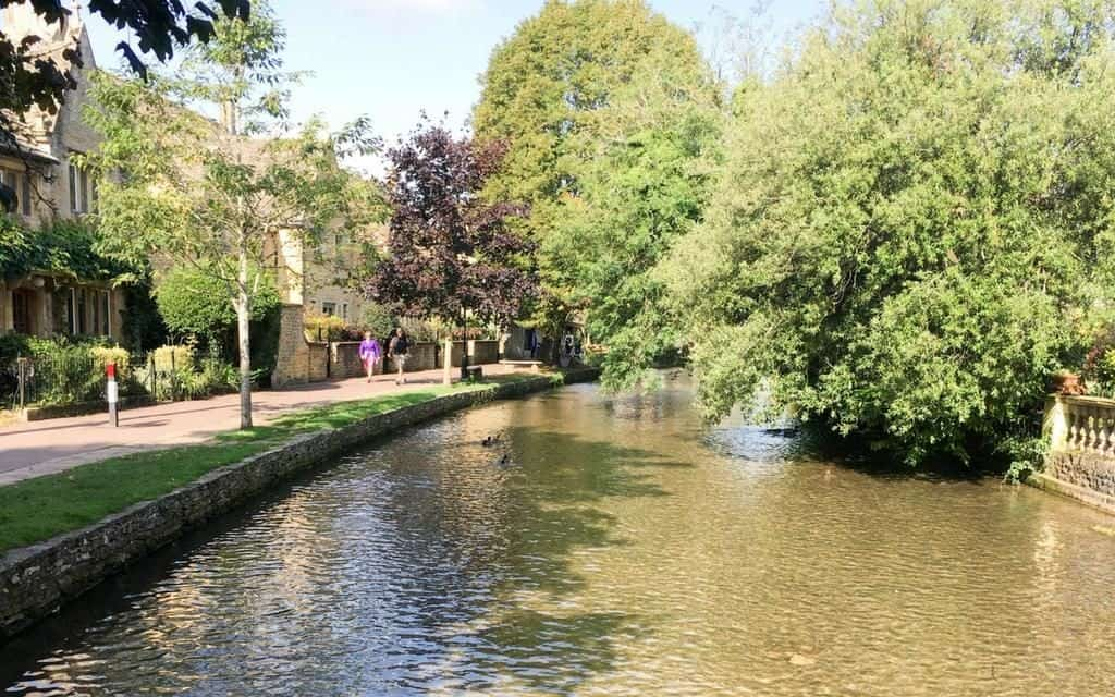 Bourton on the Water - Take a stroll along the banks of the river
