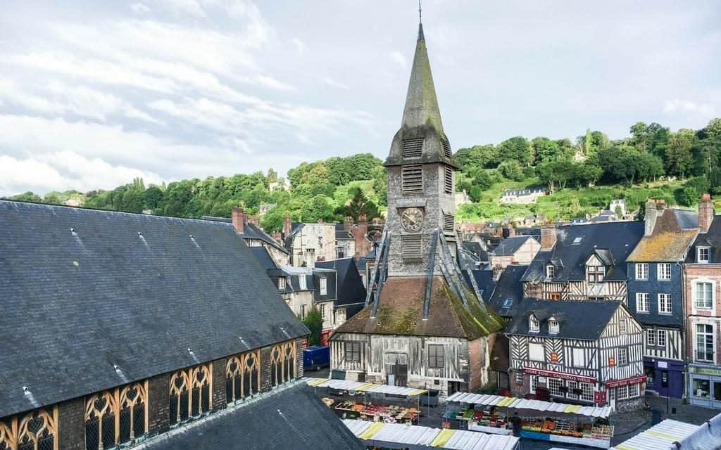 best vacation rental with view of Honfleur