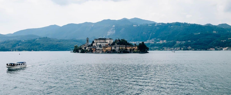 Lago di Orta view
