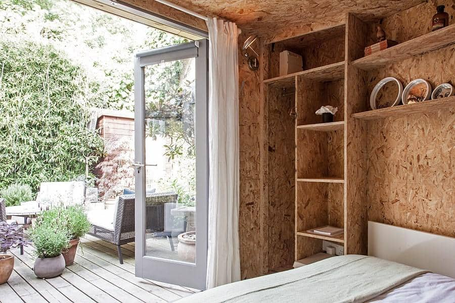 Stay at this cosy garden cabin featured in the plum guide