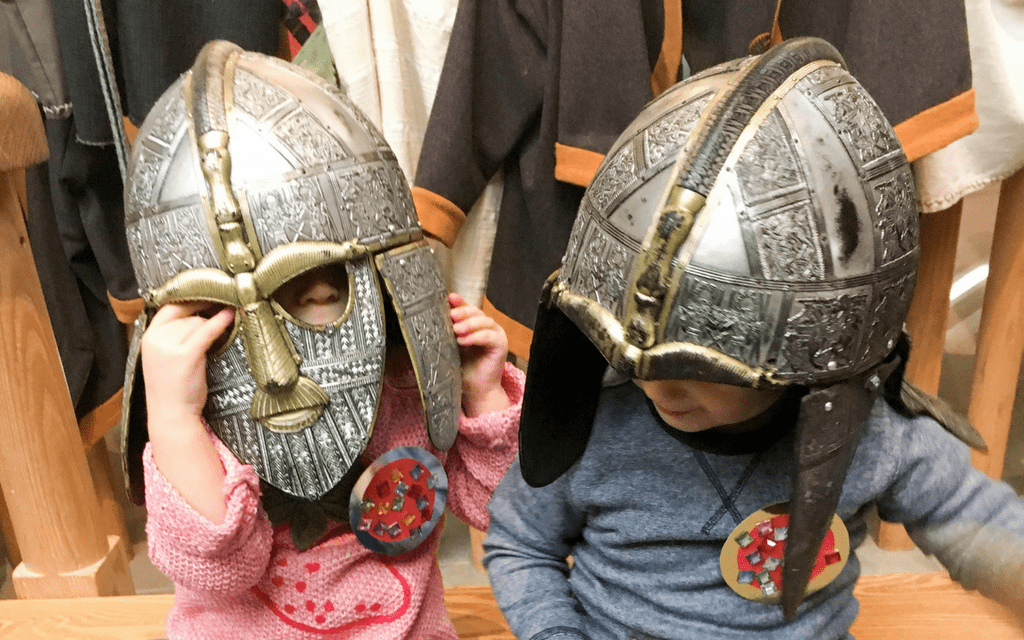 Sutton Hoo for kids - lots of activities available for a wide range of age groups