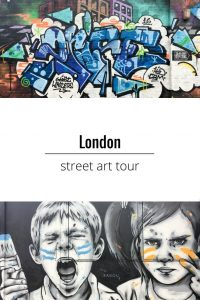 London Street Art tour - review of a walking tour of London's East End. Discover the artists, mediums and subculture behind the street art scene in London