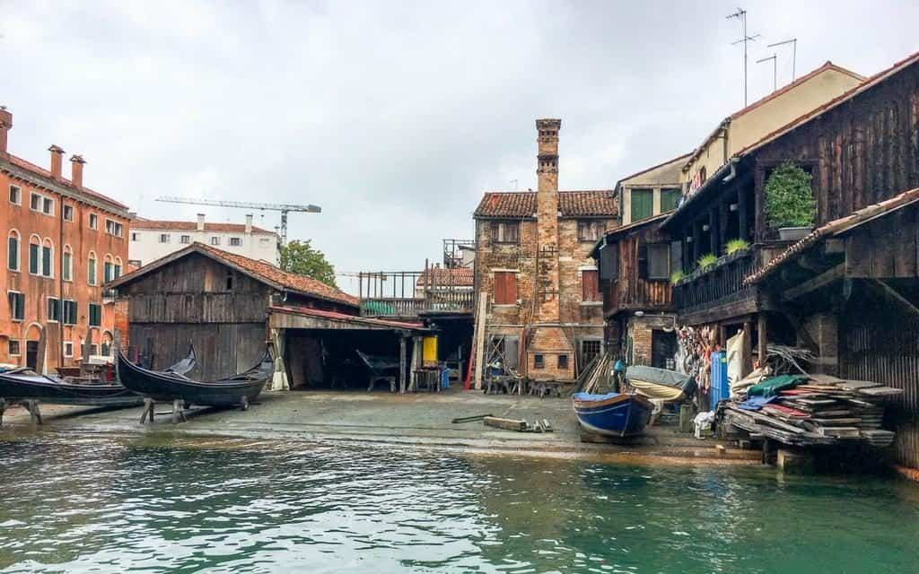 Gondola workshop Venice Italy - what to do in Venice