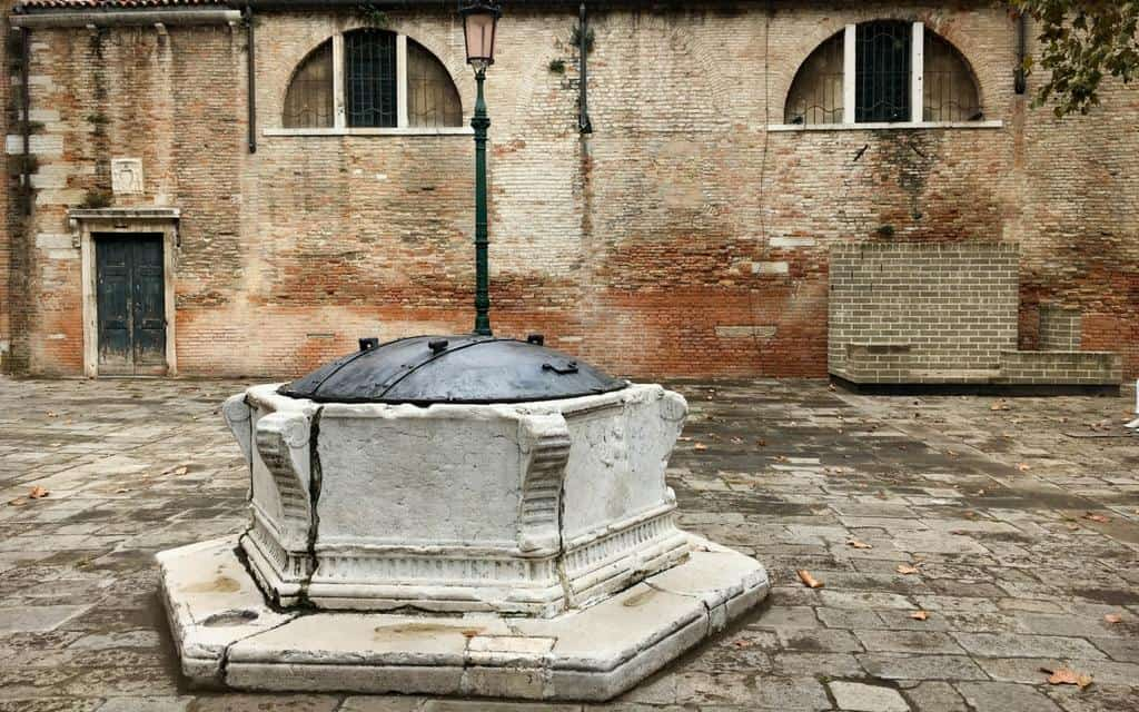 Wells of Venice - one of 600 remaining wells in Venice