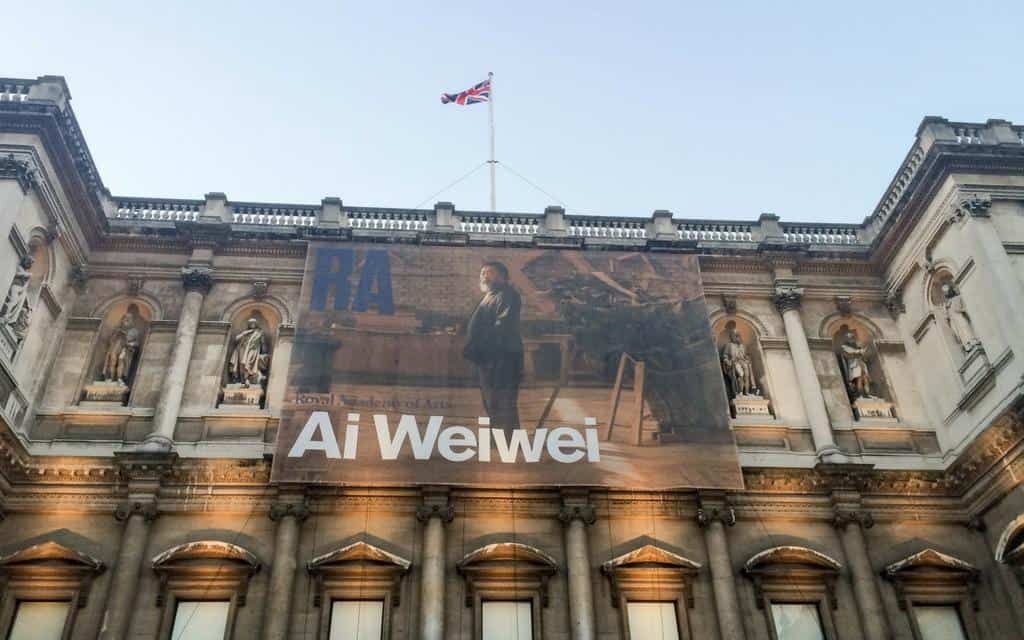 Royal Academy of Arts London - major art galleries in London