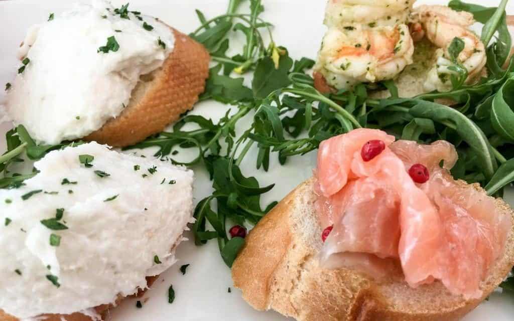 Venetian seafood cichetti