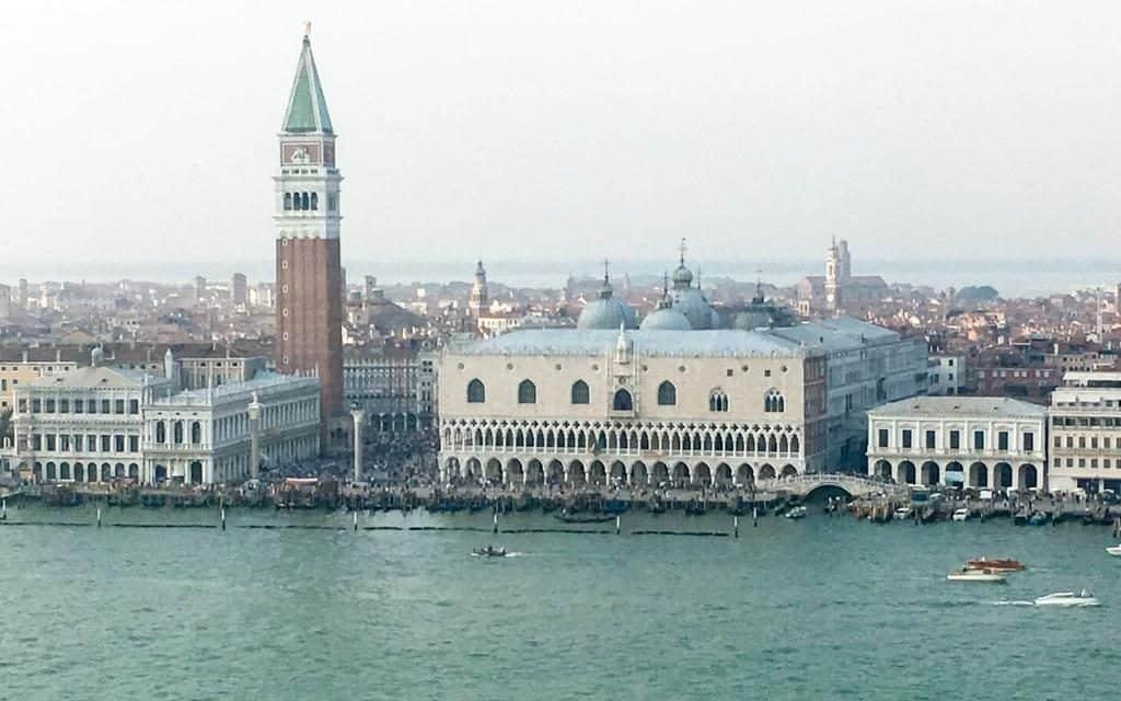 view of san marco venice from san giorgio maggiore