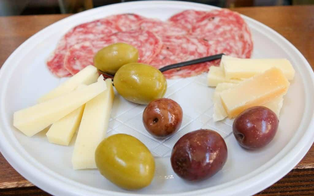Asiagio cheese - cicchetti in Venice
