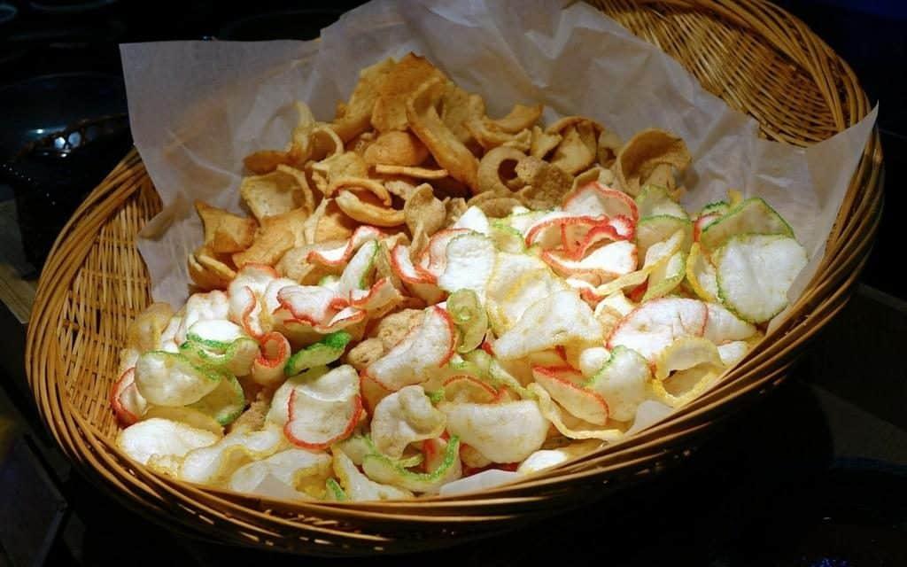krupuk - indonesian prawn crackers
