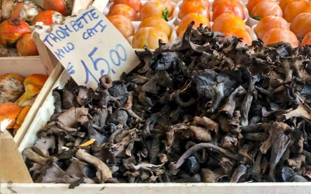 Mushrooms at the Rialto market
