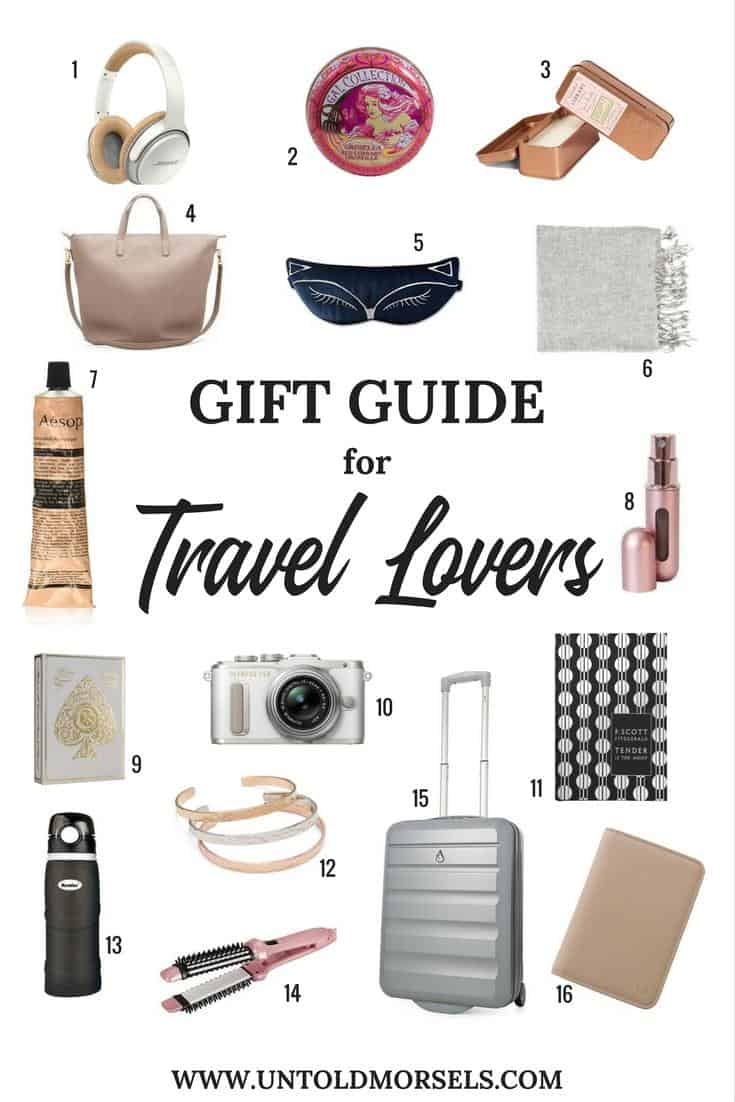 Top gifts for people going travelling - useful and unique travel gifts