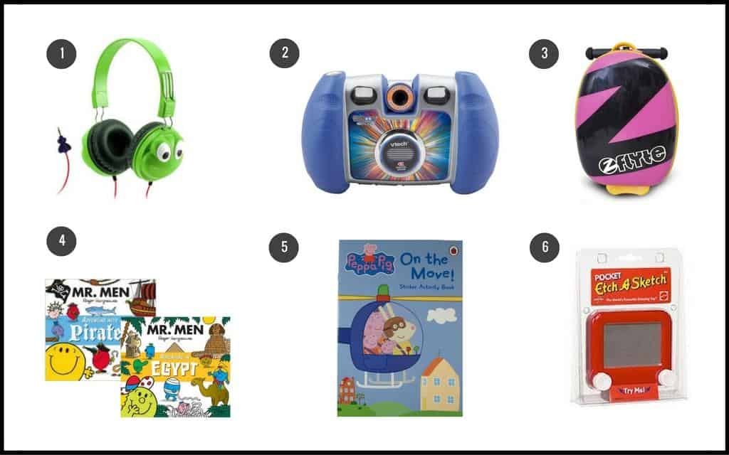 Travellers gift guide for small children