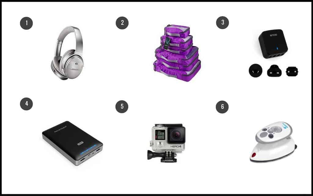 Travellers gift guide - tech and organisation