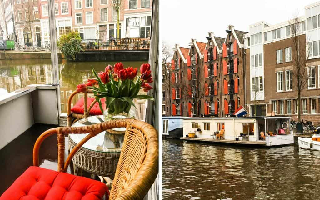 Amsterdam houseboat stay - 2016 travel highlights from Untold Morsels