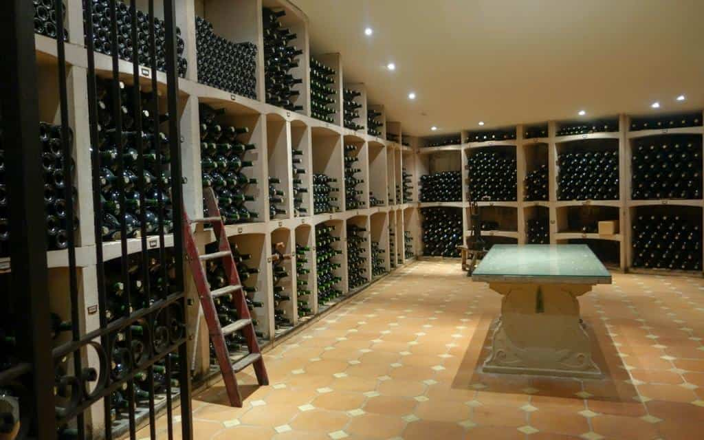 Cellar at Chateau Prieure-Lichine
