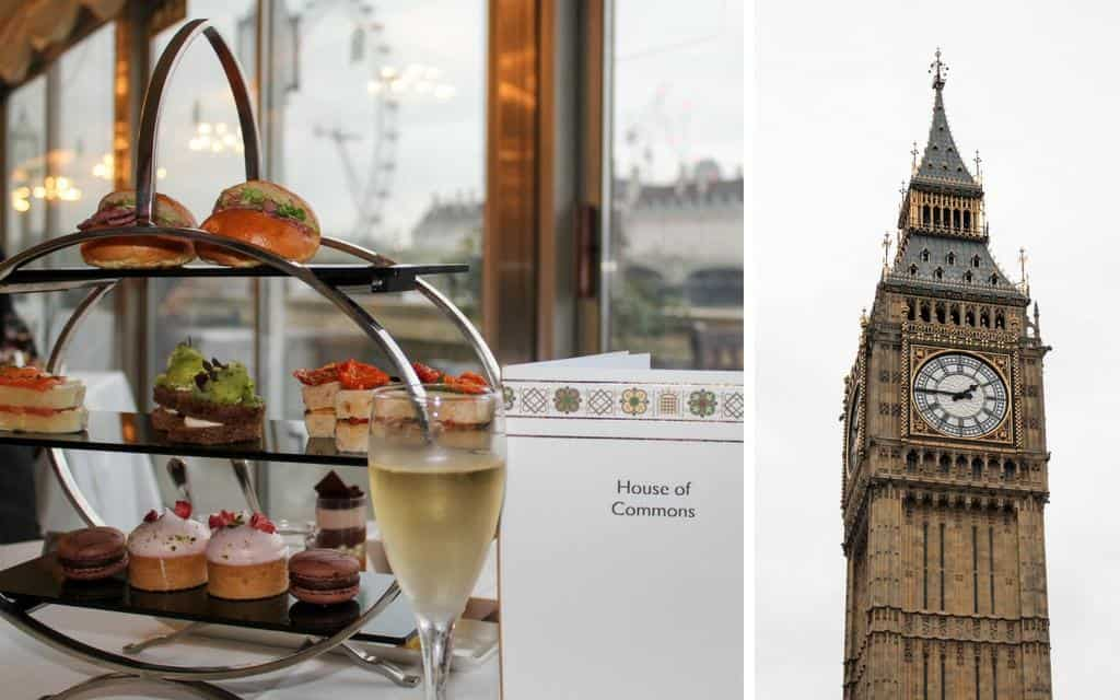 London tea and tour of Houses of Parliament - a travel highlight of 2016
