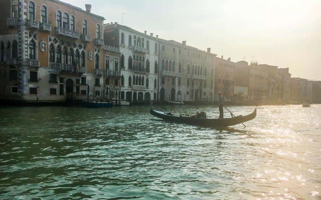 Venice at dusk - 2016 travel highlights