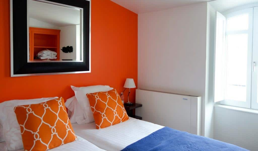 Bright, clean and modern luxury rooms at the Boutique Hotel Bordeaux