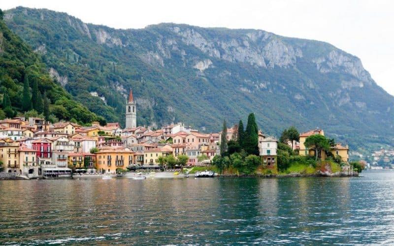 Approaching Varenna Lake Como