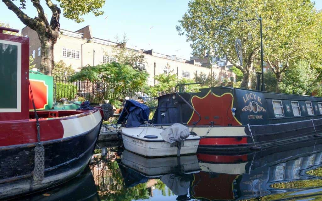 houseboats on regents canal