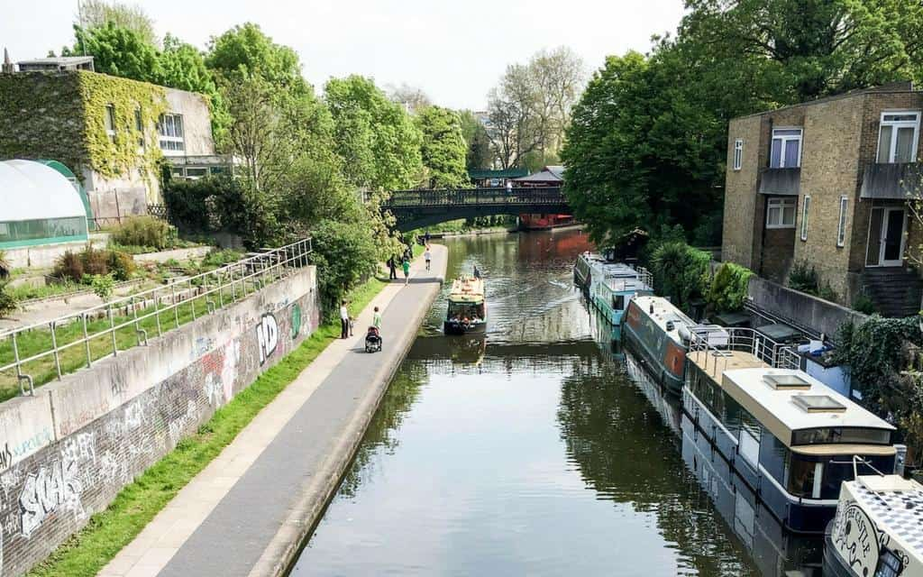 London loves: London canals – Little Venice to Camden Lock boat trip