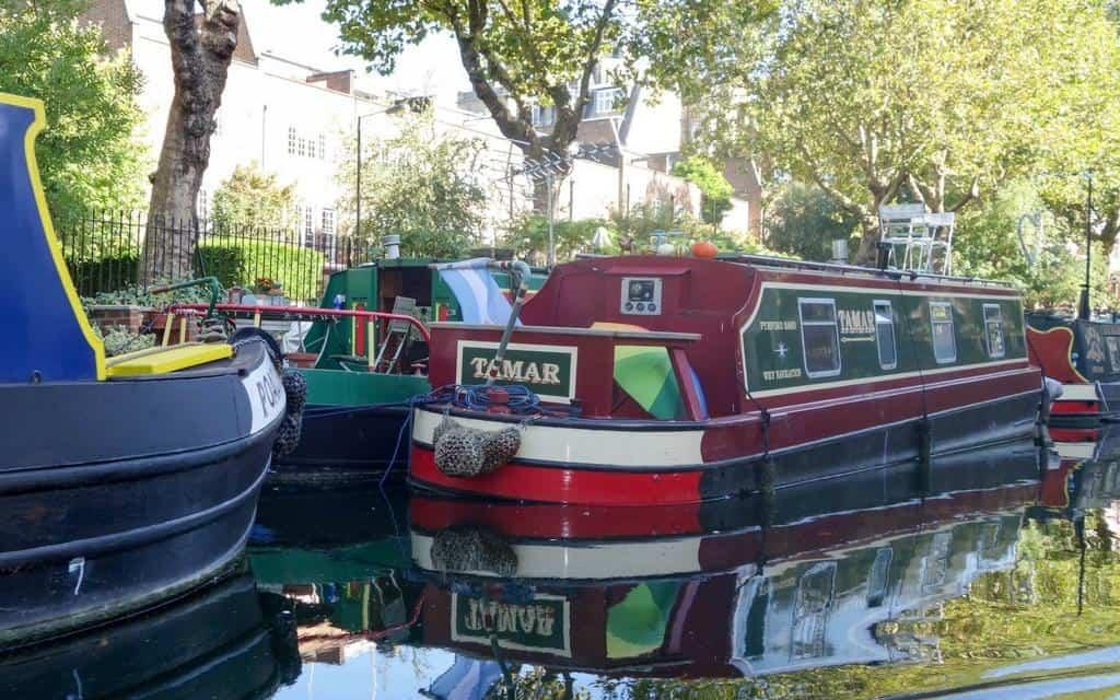 regents canal houseboats