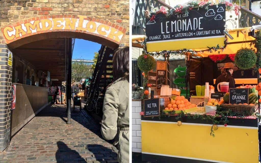 scenes from Camden Lock - Camden market