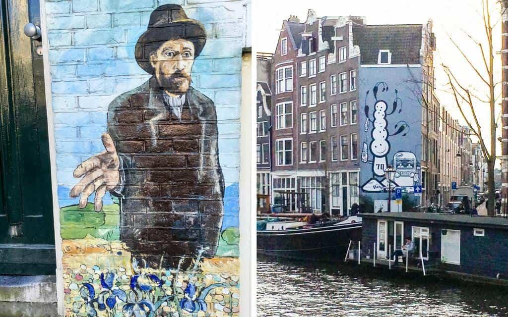 Amsterdam street art murals