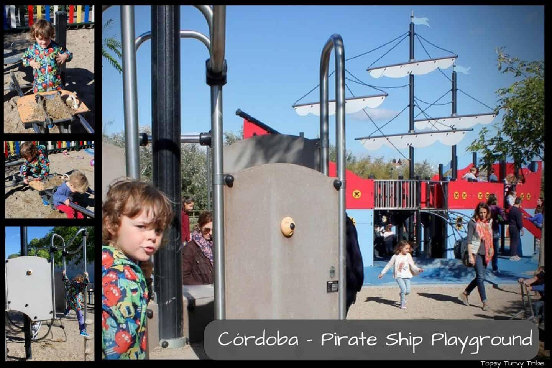 Córdoba - Pirate Ship Playground, Milaflores