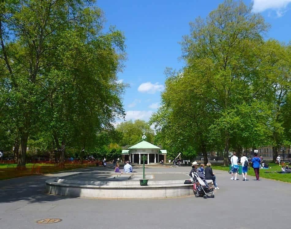 Coram's Fields London