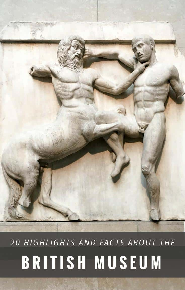 British Museum, London - highlights, facts information for your visit to one of London's top attractions