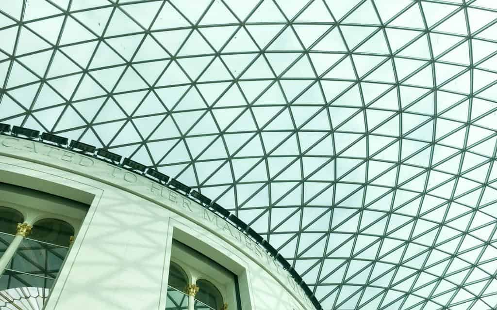 british museum highlights roof of great hall