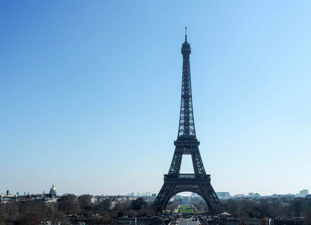Things to do in Paris with kids - Eiffel Tower view from Trocadero