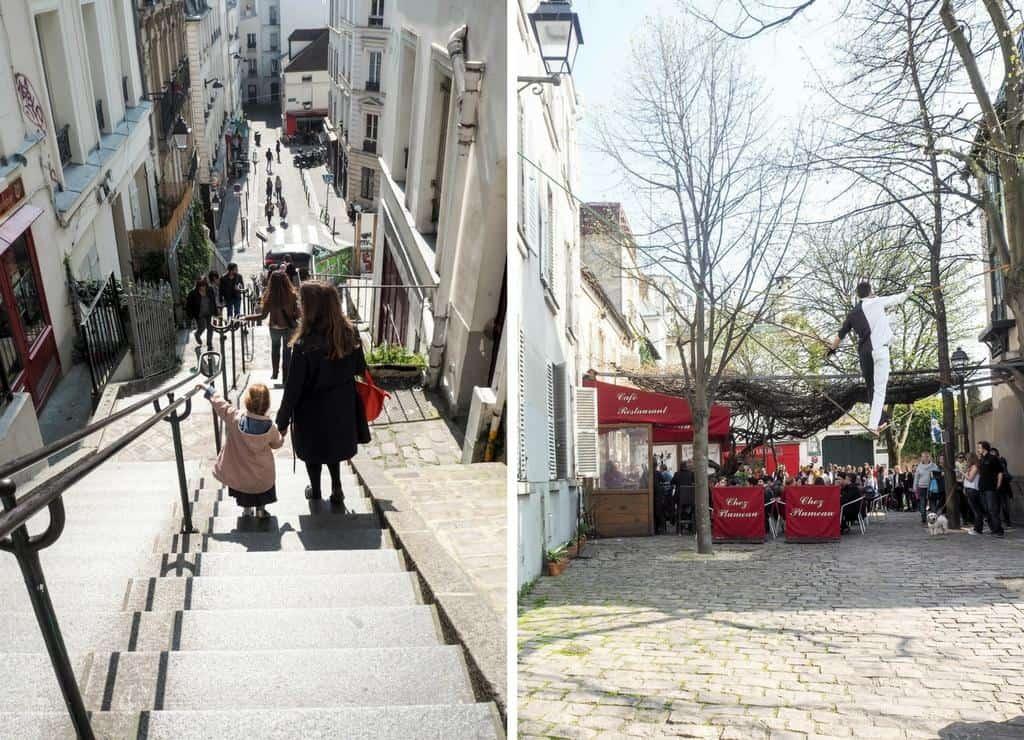 Explore Montmatre Paris with kids