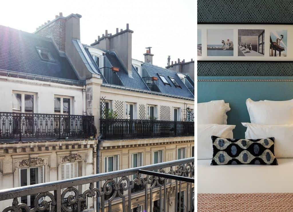 Boutique hotel in Paris - Hotel Adele et Jules - where to stay in Paris with family