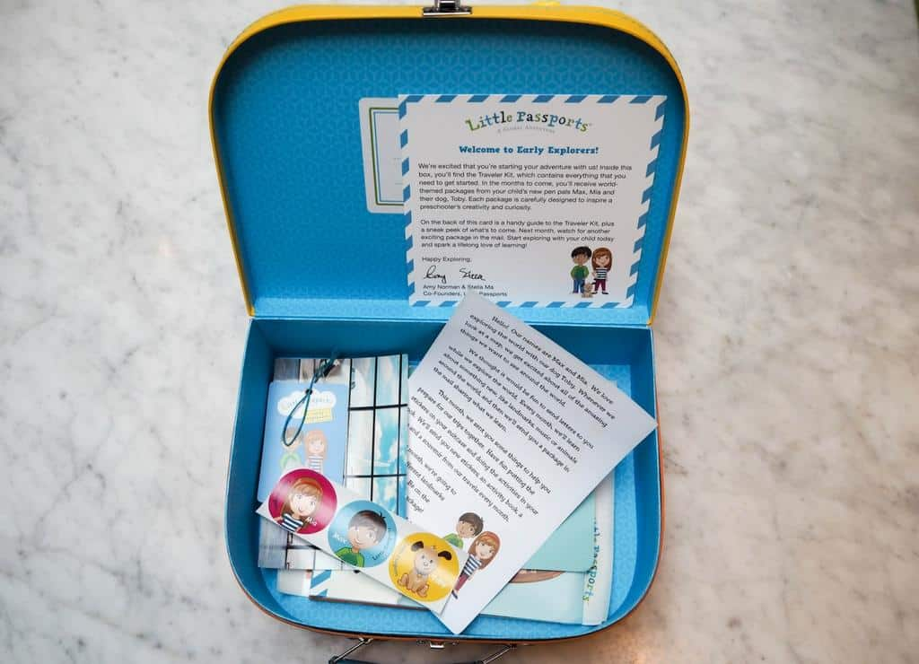 Little Passports Early Explorers kids subscription box