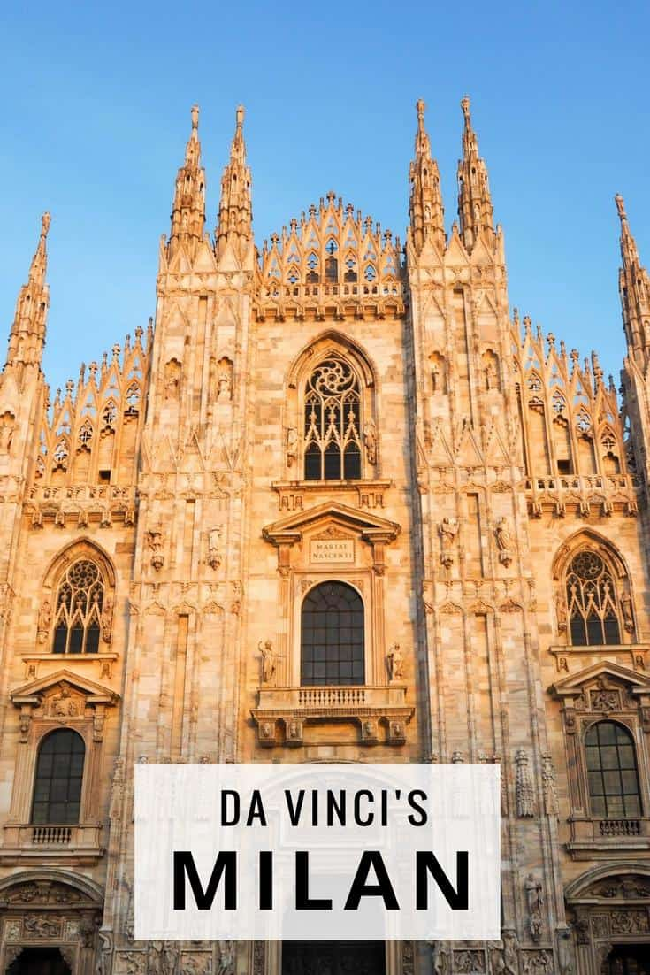 Milan travel guide - discover Leonardo da Vinci's influence. Milan things to do