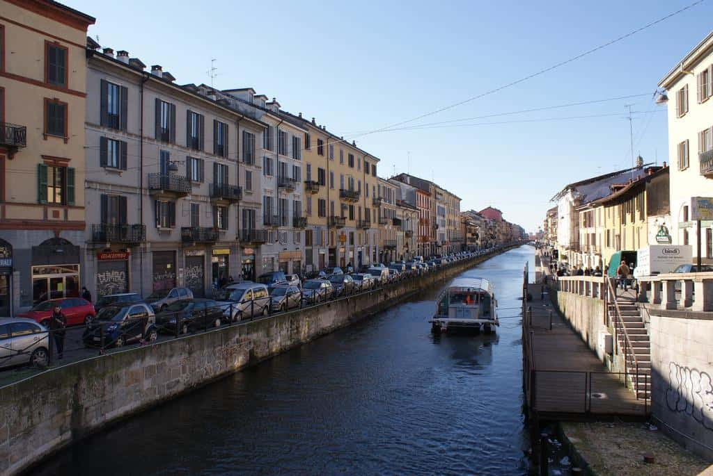 Milan's Navigli district - Da Vinci in Milan