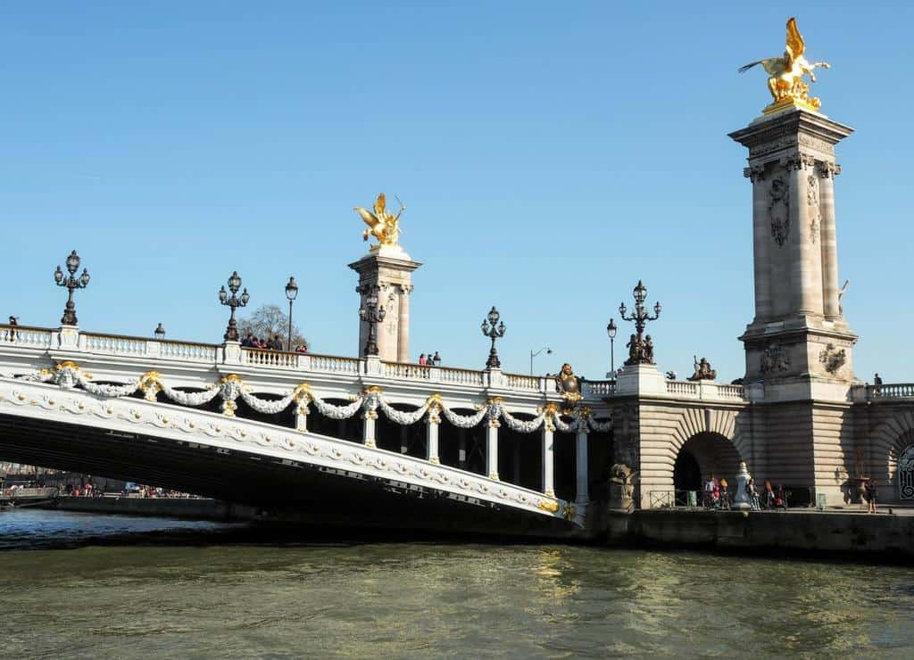 Pont Alexandre III - what to do in paris with kids