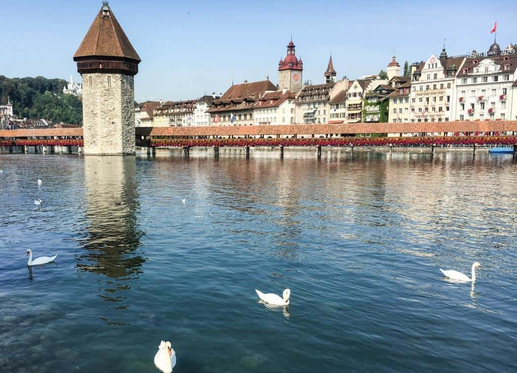 Kapellbrucke or Chapel Bridge - Things to do in Lucerne