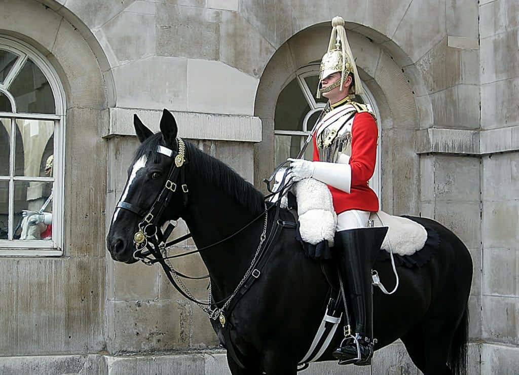 3 days in London horse guards parade